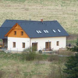 rodinný dům Roztoky u Křivoklátu - novostavba
