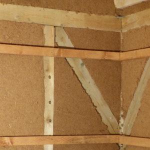 tepelná izolace v provedení eko dřevitou vatou Steico Flex