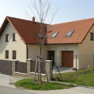 rodinný dům Turnov - novostavba