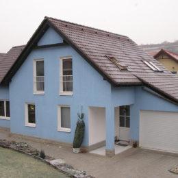 rodinný dům Úholičky - novostavba