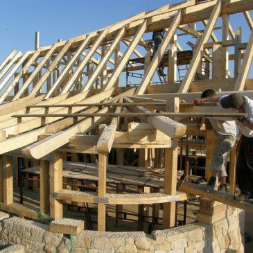 Novostavba rodinného domu z přírodních materiálů