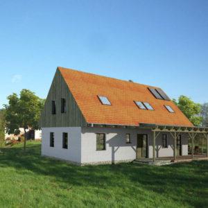 Dům v Podještědí